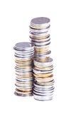 三栈硬币 免版税库存图片