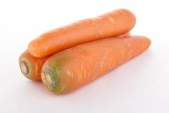 三棵红萝卜堆 免版税库存照片