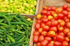 三棵蔬菜 免版税库存照片