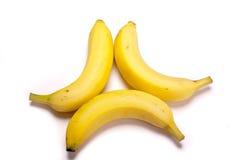 三的香蕉 免版税库存图片