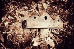 三的鸟舍 免版税图库摄影