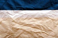 三种颜色纺织品 图库摄影