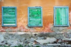 三视窗 免版税图库摄影