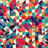 三角几何形状样式 库存图片