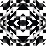 三角几何形状样式 库存照片