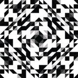 三角几何形状样式 免版税库存图片