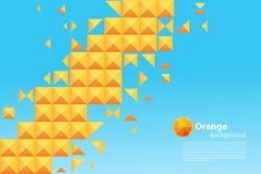 三角和正方形样式 免版税库存照片