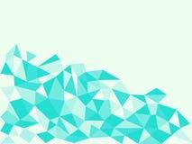 三角多角形山  库存图片