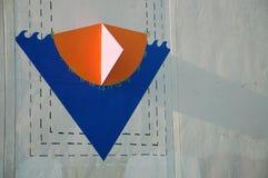 三角大厦艺术在波特兰,俄勒冈` s珍珠区 免版税库存图片