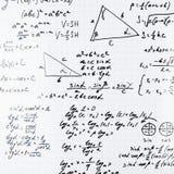 三角学算术等式和惯例 库存图片