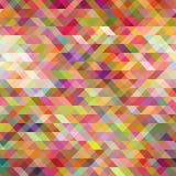 三角形成的抽象背景 库存例证