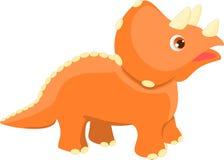 三角恐龙 免版税图库摄影