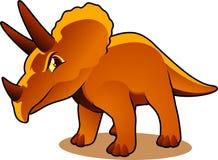 三角恐龙 库存图片