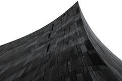 三角抽象的大厦 免版税库存照片