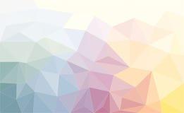 三角抽象背景 皇族释放例证