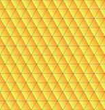 三角无缝与黄色梯度 美好的多角形文本 向量例证