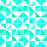 三角无缝的样式 传染媒介菱形背景 与三角的现代几何背景 明亮的颜色 库存例证