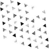 三角无缝的模式 免版税库存照片