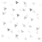 三角无缝的模式 免版税图库摄影