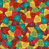 三角样式 免版税库存图片