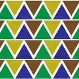 三角模式 库存照片