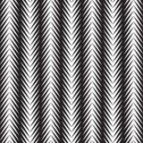 三角欧普艺术黑白抽象背景 库存例证