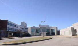 三角洲艺术教育中心后方,西部孟菲斯,阿肯色 免版税图库摄影
