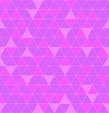 三角浅紫色无缝 美好的多角形纹理 geom 向量例证