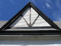 三角的屋顶 库存图片