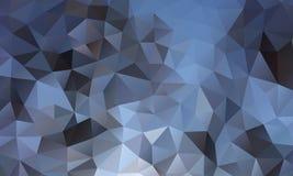 三角背景蓝色 免版税库存照片