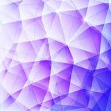 三角蓝色01 库存图片