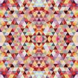 三角马赛克五颜六色的BackgroundÂŒ 皇族释放例证