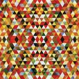 三角马赛克五颜六色的BackgroundÂŒ 免版税图库摄影