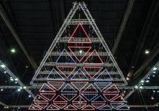 三角blub 库存照片
