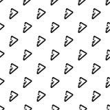 三角carabiner样式无缝的传染媒介 皇族释放例证