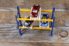 三辆微型汽车 免版税库存图片