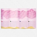 三部合成的小册子的模板轻的传染媒介设计 免版税库存图片