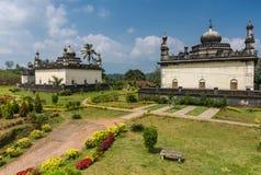三领域王侯坟茔的皇家陵墓,马迪凯里印度 免版税库存图片