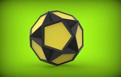三维球形 免版税库存图片