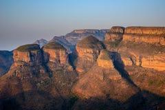 三Rondavels,南非 免版税库存照片