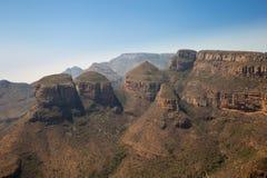 三Rondavels,布莱德河峡谷,南非 免版税库存照片