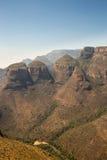 三Rondavels,布莱德河峡谷,南非 免版税库存图片