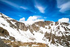 登上伊万斯山顶-科罗拉多 免版税库存照片