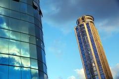 摩天大楼&一部分的办公楼 图库摄影
