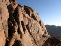 上升的山摩西埃及 免版税库存照片