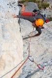 上升的岩石 库存图片