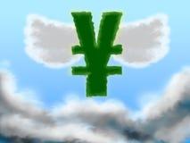 上升的日元 免版税库存照片
