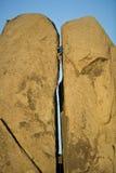 上升的柱子岩石已分解 图库摄影