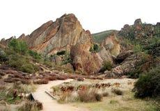 上升的石峰 图库摄影