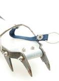 上升的起重吊钩设备冰 免版税库存图片